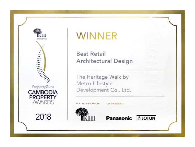 Best Retail Architectural Design Award 2018
