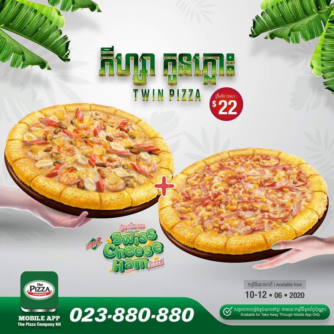 The Pizza Company – Twin Pizza