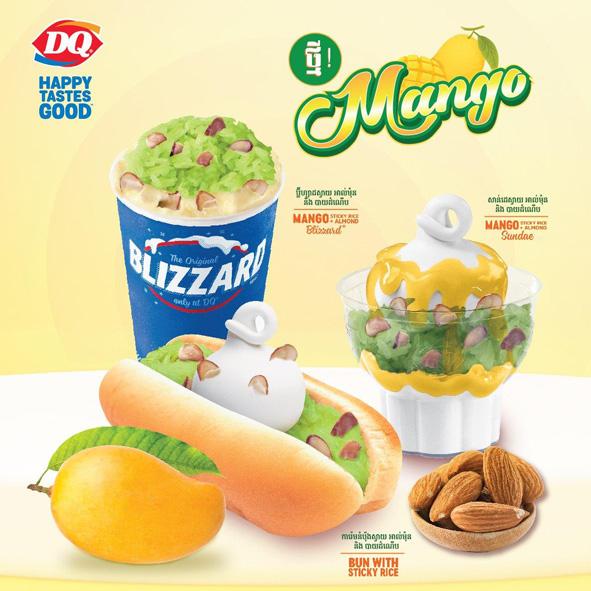 Dairy Queen – Mango Set