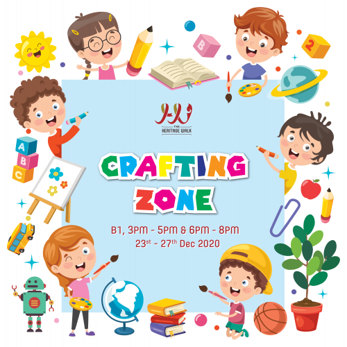 The Heritage Walk – Crafting Zone  Copy