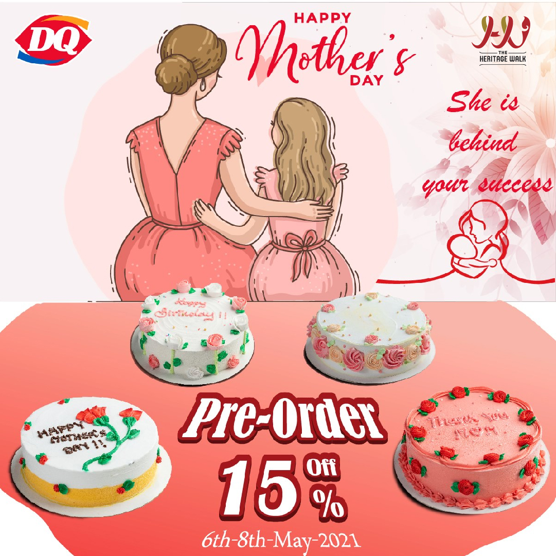 Dairy Queen – Mother's day Cake