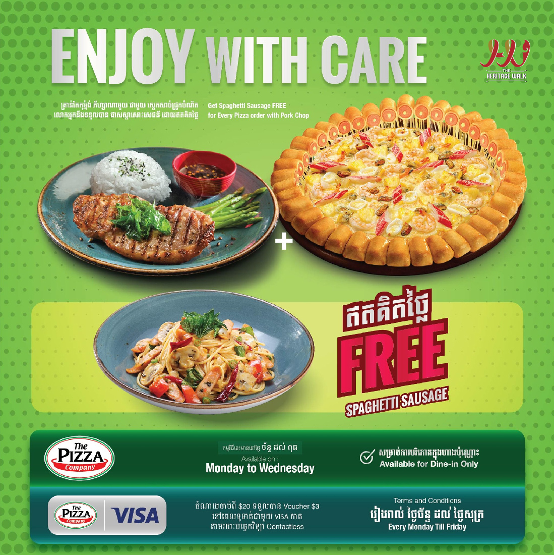 The Pizza Company – Enjoy with care