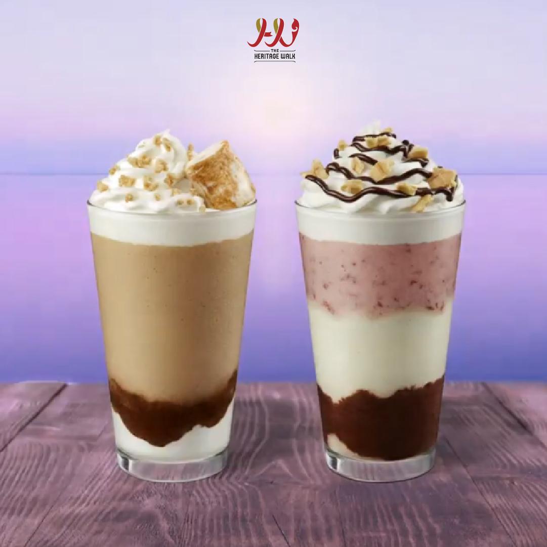 Starbucks – Smores Frappuccino & Neapolitan Frappuccino